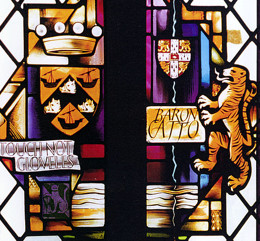 Westminster Abbey, Catto window