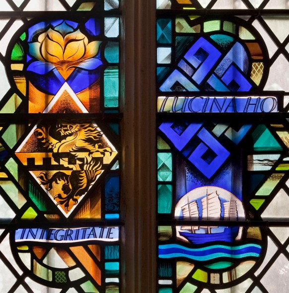 Lucina Ho, donor window Henry VII chapel